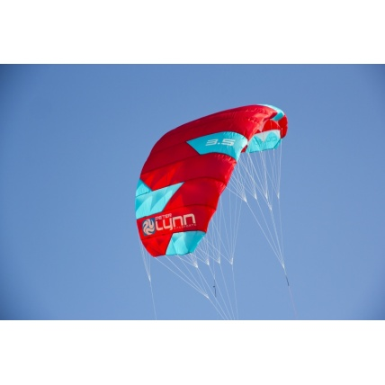 Peter Lynn Uniq Single Skin Power Kite in Red/ Aqua