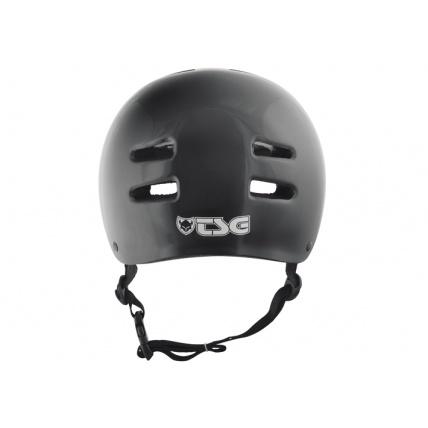 TSG Evo Helmet in Injected Black Back
