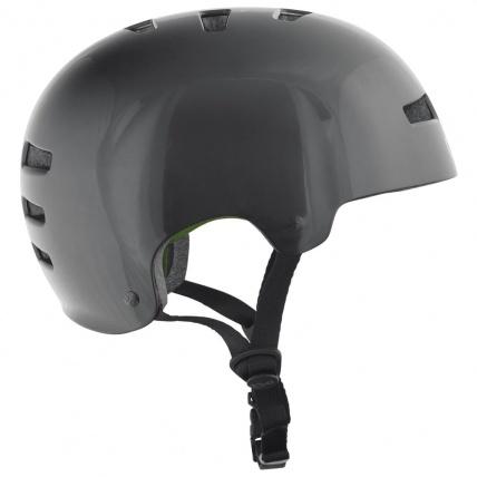 TSG Evo Helmet in Injected Black Side