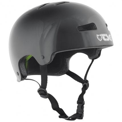 TSG Evo Helmet in Injected Black