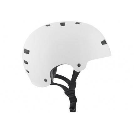 TSG Evo Helmet in Injected White Side