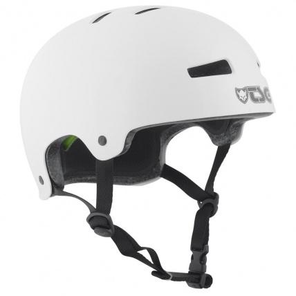 TSG Evo Helmet in Injected White