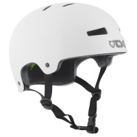 TSG - Evo Helmet in Injected White