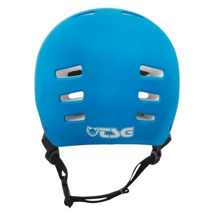 TSG Evo Helmet in Satin Dark Cyan Back