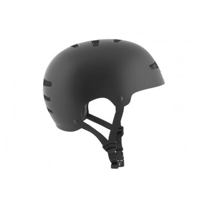 TSG Evo Helmet in Satin Black Side