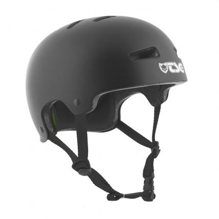 TSG Evo Helmet in Satin Black