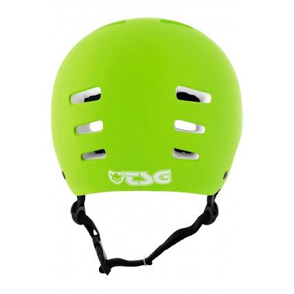 TSG Evo Helmet in Satin Lime Green Back