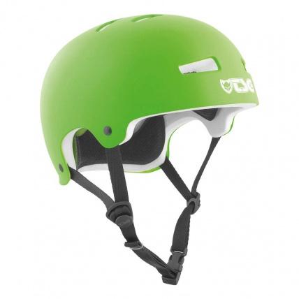 TSG Evo Helmet in Satin Lime Green