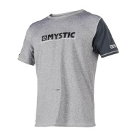 Mystic - Majestic Loose Fit SS Rash Vest in Grey