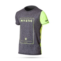 Mystic - Block SS Quick Dry T-shirt Rash vest in Yellow