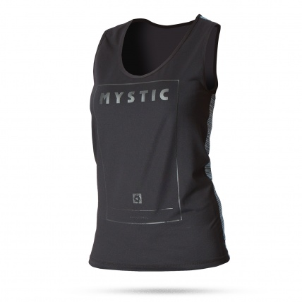 Mystic Diva Womens Quickdry Tanktop in Black front