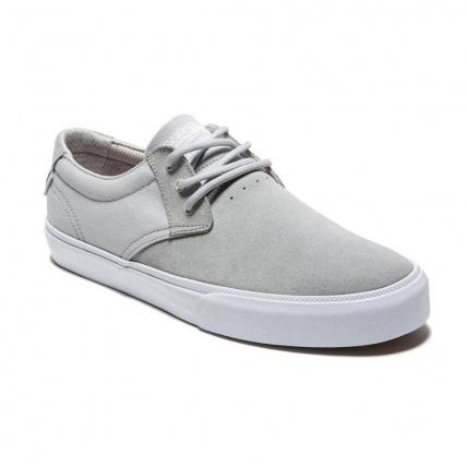 Lakai MJ in White/Grey Suede