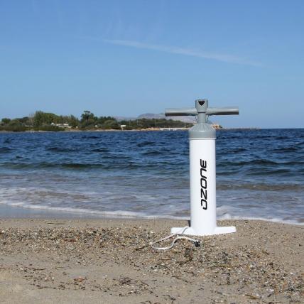 Ozone Kite Pump V2 on Beach