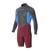 Mystic - Star Longarm 3/2 Shorty Wetsuit Bordeaux