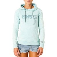 Mystic - Sympathy Womens Hooded Sweatshirt in Blue