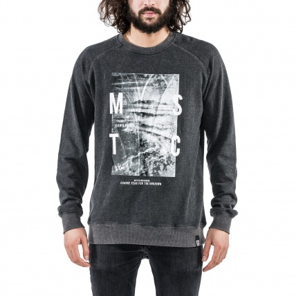 Mystic Cape Fear Sweat in Grey front
