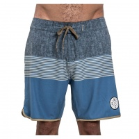 Mystic - Fortress 18in Board shorts in Blue