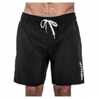 Mystic - Brand Elastic Board Shorts 18in Black