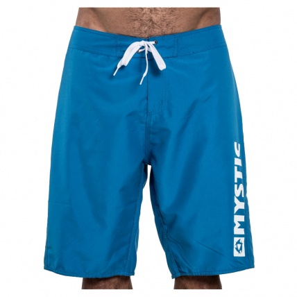 Mystic Brand Board Short 21.5 Blue Front View