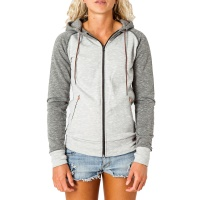 Mystic - Dusk Womens Hooded Sweat Grey