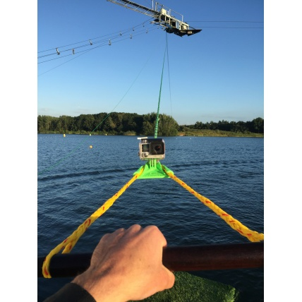 Beast Mount Wakeboard Cable Mount on cable bar