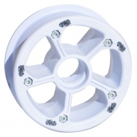 MBS - Rockstar II Mountainboard Hub White