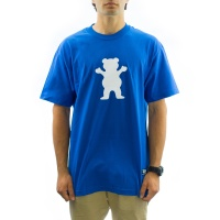 Grizzly Griptape - OG Bear Logo T-shirt in Royal
