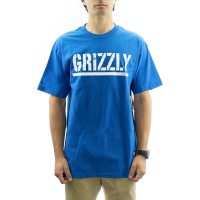 Grizzly Griptape - OG Stamp Tee in Royal Blue