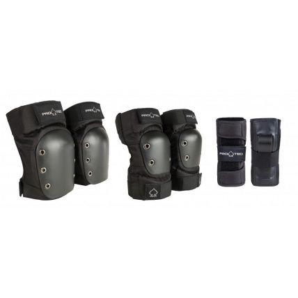 ProTec Street Gear Junior 3 Piece Pad Set Detail