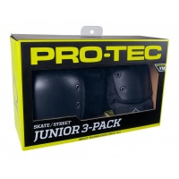 Protec - Street Gear Junior Wrist, Knee, Elbow Pad Set