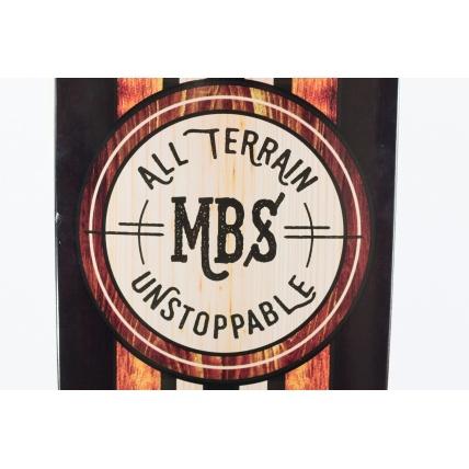 MBS All Terrain Skateboard Graphic