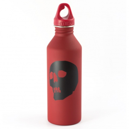 Mizu Capita Red Skull M8 Water Bottle