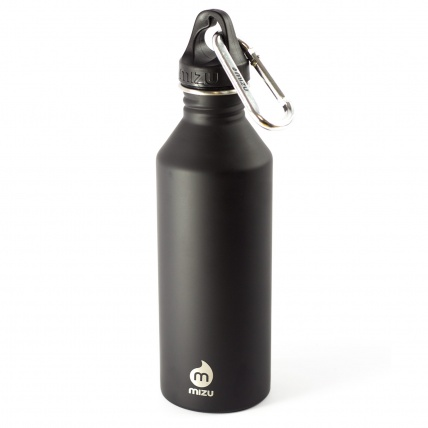 MIZU Premium Black M8 Bottle with Hybrid Cap