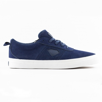 Diamond Footwear Icon in Navy Suede
