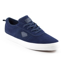 Diamond - Icon Navy Suede Skate Shoes