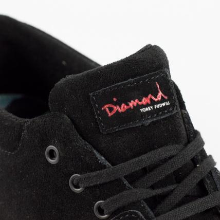 Diamond Footwear Torey in Black Suede