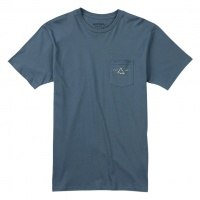 Burton - Crafted Pocket T-Shirt in Blue Mirage
