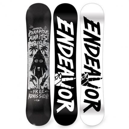 Endeavor New Standard Series Snowboard 2017 on white