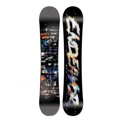 Endeavor Live 2017 Snowboard on White