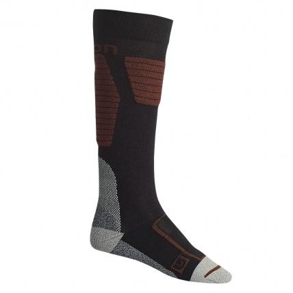 Burton Snowboards Ultralight Wool Sock in True Black