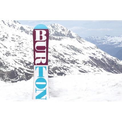 Burton Feelgood Flying V Womens 2016 Snowboard at Spring Break Snowboard Test Base Gaphic