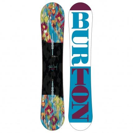Burton Feelgood Flying V Womens 2016 Snowboard on white
