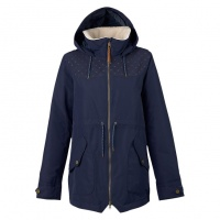 Burton - Prowess Womens Snow Jacket in Indigo dot