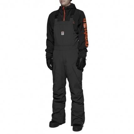 Thirty Two Black Basement Bib Snowboard Pant