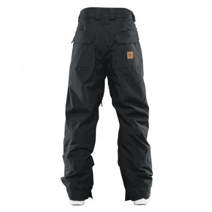 Thirtytwo Muir Pants in Black Rear View