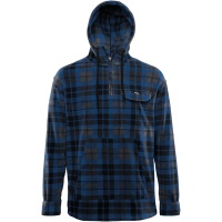 Thirty Two - Pulaski Hooded Polar Fleece in Blue