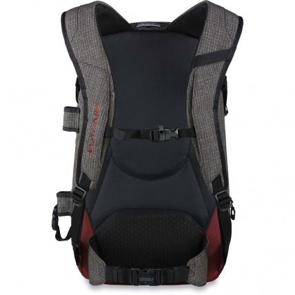 Heli Pro 20L backpack rear view