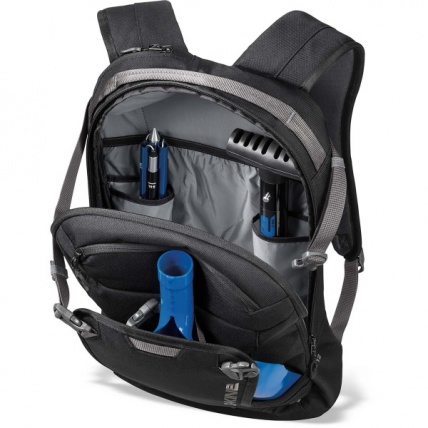 Dakine heli pack 12L in tabor inside view