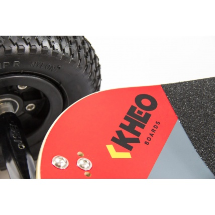 Top Detail of Kheo Flyer V2 Mountainboard