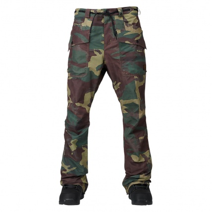 Analog Field Snowboard Pant in Surplus camo